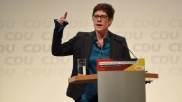 """So will AKK die CDU wieder zu """"40 Prozent und mehr"""" führen"""