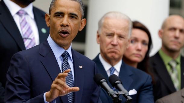 Obama scheitert mit Verschärfung der Waffengesetze