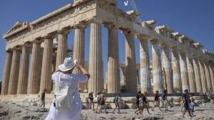 Hohe Schulden sind für Athen kein Problem mehr