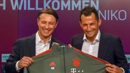 Nico Kovac in München vorgestellt