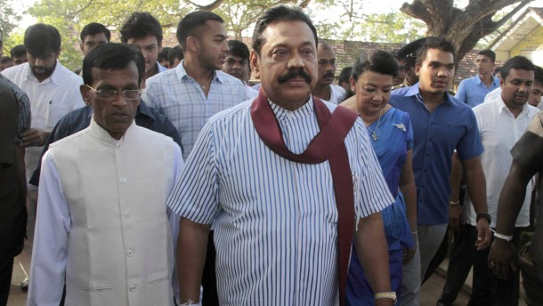 Sri Lankas Präsident gesteht Wahlniederlage ein