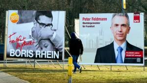 Oberbürgermeister-Kandidaten werben bei Migranten