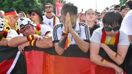 Katerstimmung im deutschen Fanlager