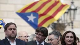 Katalanische Regierung will Unabhängigkeit durchsetzen