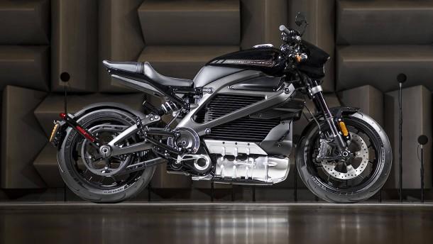 Die Harley-Davidson wird elektrisch