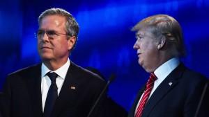 Jeb Bush und Donald Trump sind entzaubert