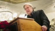 Äußerte Genugtuung nach dem Urteil: Steve Bannon (Archivbild)