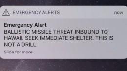 Raketenalarm sorgt für Panik