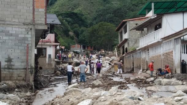 Heftige Regenfälle im Westen Venezuelas