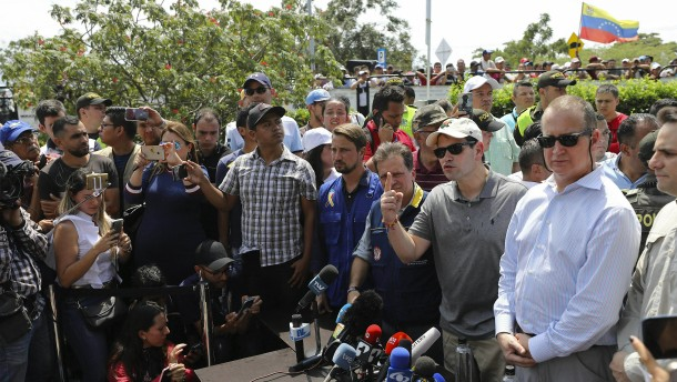 Deutliche Kritik an Maduro