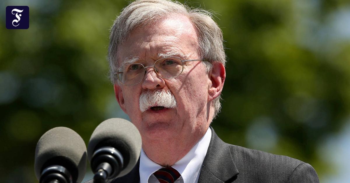 Konflikt mit Teheran: Bolton macht Iran für jüngste Angriffe auf Schiffe verantwortlich