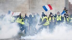 Frankreich im gelben Fieber