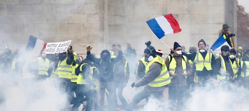 Gelbwesten Frankreich Aktuell
