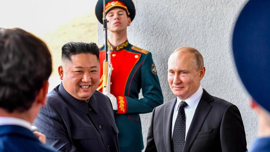 Kim Jong Un Und Wladimir Putin Die Zwischenbilanz Zum Gipfel