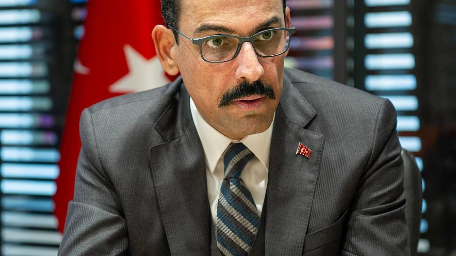 Ibrahim Kalin in der türkischen Botschaft in Berlin