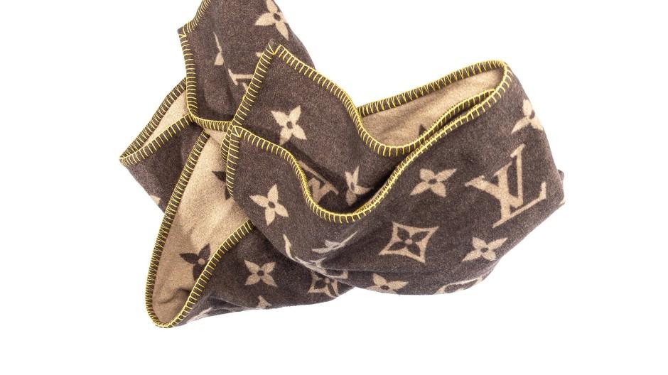 Louis Vuitton-Decke mit klassischem Monogramm