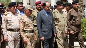 Die irakische Armee ist ihren Aufgaben nicht gewachsen