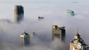 China geht die Luft aus