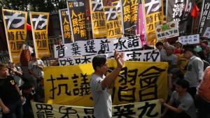 Skepsis vor erstem Treffen der Staatschefs von Taiwan und China