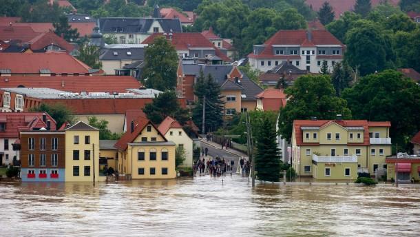 Furcht vor einer gewaltigen Elbe-Flut