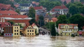 Bilder vom Hochwasser am 4. Juni
