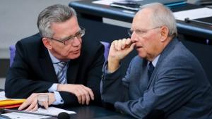 Schäuble strebt Flüchtlingskompromiss mit osteuropäischen Staaten an