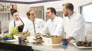 Der Altmeister und die jungen Köche