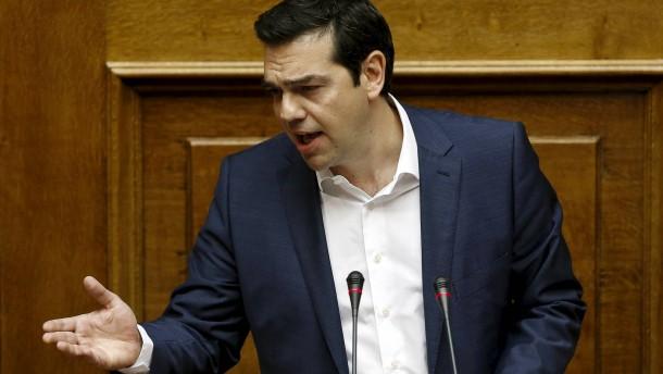 Tsipras lehnt Forderungen der Gläubiger ab
