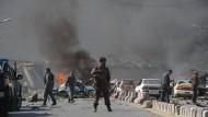 Der Anschlag ereignete sich im Diplomatenviertel von Kabul