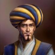 Diese Glutaugen! Doch wie Ibn al-Haytham wirklich ausgesehen hat, weiß niemand. Traditionell wird der mittelalterliche Gelehrte als greiser Rauschebart mit Turban dargestellt.