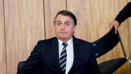Bolsonaro stürzt ab