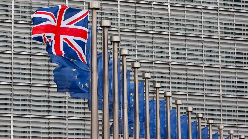 Britain first: Der Union Jack wird bald wohl öfter alleine wehen.