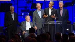 Eine Bühne, 5 Präsidenten
