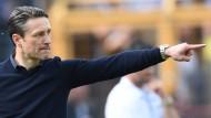Da geht's lang: Niko Kovac gibt bei der Eintracht die Richtung vor