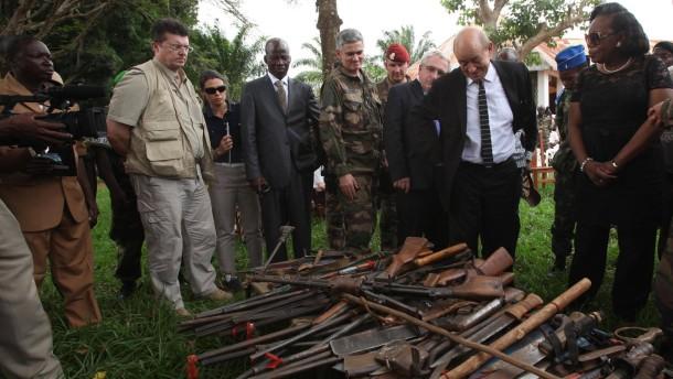Mit 1000 Mann nach Bangui