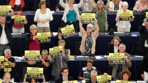 Große Mehrheit im Europaparlament gegen Acta