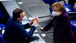 Merkel: Anteil der Mutationen liegt bei rund 50 Prozent