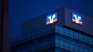 Ziel des Angriffs: Das Büro der Volksbank in Stuttgart