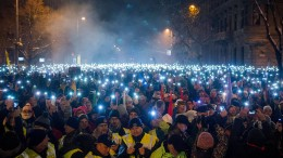 Proteste gegen Orban reißen nicht ab