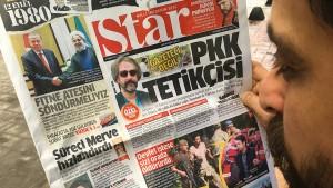 So beschimpfen türkische Medien Deniz Yücel