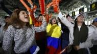 Stichwahl in Kolumbien