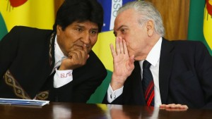 Brasilien und Bolivien gehen das Jahrhundertprojekt an