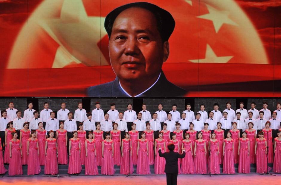 Bo entfachte eine wahre Mao-Nostalgie in Chongqing.
