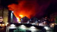 Bekannter Londoner Markt steht in Flammen