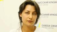 Anna Leonova ist Geschäftsführerin der Gay Alliance Ukraine.