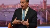 Handelsminister Liam Fox diskutiert bei BBC über die Folgen eines Austritts aus der EU.
