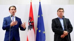 Koalition zwischen ÖVP und Grünen rückt näher