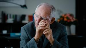 Schäuble kritisiert Politisierung der Protestanten