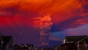 Großartig Calbuco Spektakulärer Vulkanausbruch In Südchile