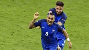 Frankreich erlöst sich erst spät